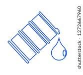 oil barrel icon | Shutterstock .eps vector #1272667960