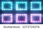 colorful flashing of... | Shutterstock . vector #1272724276