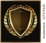 black shield | Shutterstock .eps vector #127274120