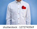 the guy in the white shirt with ... | Shutterstock . vector #1272743569