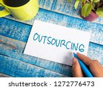 outsourcing  business... | Shutterstock . vector #1272776473