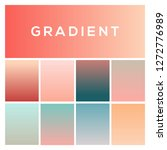 soft color gradients. trendy...