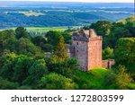 Medieval Castle Campbell near Dollar, Clackmannanshire, Scotland.