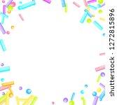 sprinkles grainy. sweet...   Shutterstock .eps vector #1272815896