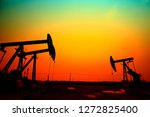 the oil pump  industrial... | Shutterstock . vector #1272825400