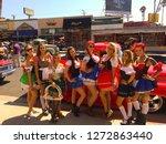 belmont shores  california  ... | Shutterstock . vector #1272863440