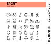 sport icons set. ui pixel...