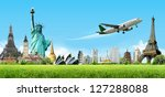 travel the world concept | Shutterstock . vector #127288088