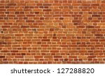 Red Brick Wall Texture...