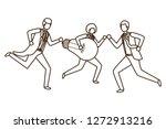 businessmen with lightbulb...   Shutterstock .eps vector #1272913216