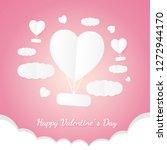 banner valentine day design for ...   Shutterstock .eps vector #1272944170