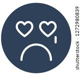 weeping  crying vector... | Shutterstock .eps vector #1272980839