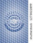 unusually blue polygonal badge. | Shutterstock .eps vector #1273022899