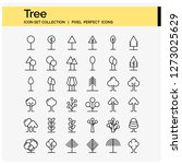 tree design pixel perfect icons ...