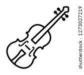 classical violin   string... | Shutterstock .eps vector #1273027219