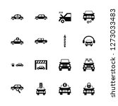 vector illustration of 16 icons....   Shutterstock .eps vector #1273033483
