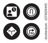 4 vector icon set   waiting ... | Shutterstock .eps vector #1273035493