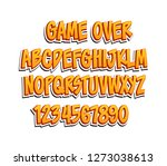 typeface game logo tittle text effect