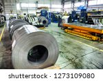 factory for the production of... | Shutterstock . vector #1273109080