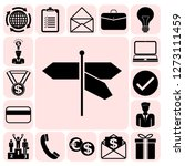 set of 17 business icons ... | Shutterstock .eps vector #1273111459