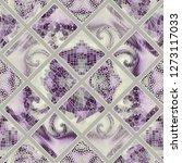seamless background pattern.... | Shutterstock .eps vector #1273117033