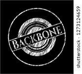 backbone on blackboard | Shutterstock .eps vector #1273124659