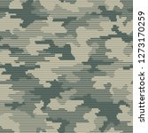 linear camouflage seamless...   Shutterstock .eps vector #1273170259