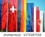 flags of german speeking... | Shutterstock . vector #1273187233