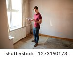 male first time buyer looking... | Shutterstock . vector #1273190173