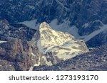 spectacular winter mountain... | Shutterstock . vector #1273193170