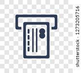 atm cash icon. trendy atm cash... | Shutterstock .eps vector #1273205716