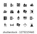 vector illustration of 20 icons....   Shutterstock .eps vector #1273215460