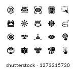 vector illustration of 20 icons.... | Shutterstock .eps vector #1273215730