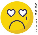 weeping  crying vector... | Shutterstock .eps vector #1273218880