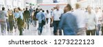 large crowd of business people... | Shutterstock . vector #1273222123
