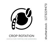 crop rotation icon vector on... | Shutterstock .eps vector #1273229473