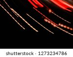 abstract tones. night road and...   Shutterstock . vector #1273234786