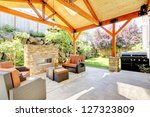 Exterior Covered Patio With...