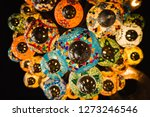 beautiful turkish lamp... | Shutterstock . vector #1273246546
