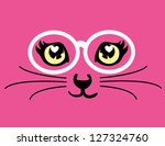 Stock vector cat t shirt graphics cute cartoon characters cute graphics for kids book illustrations 127324760