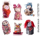 Collection Of Handmade Rag Dol...