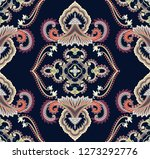seamless contrast pattern in... | Shutterstock .eps vector #1273292776