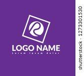 letter r logo concept. designed ...