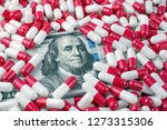 increase in the cost of drugs... | Shutterstock . vector #1273315306