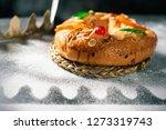 closeup of a roscon de reyes ... | Shutterstock . vector #1273319743