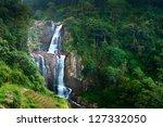 large waterfalls in green... | Shutterstock . vector #127332050
