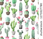 seamless pattern with...   Shutterstock . vector #1273327780