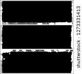 set of grunge textures on white ... | Shutterstock .eps vector #1273331413