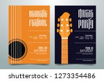 creative music party   festival ... | Shutterstock .eps vector #1273354486