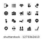 vector illustration of 20 icons....   Shutterstock .eps vector #1273362613